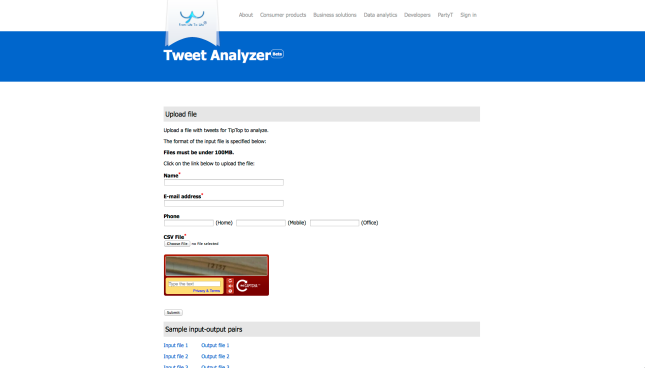 Tweet Analyer SCREENSHOT FINAL